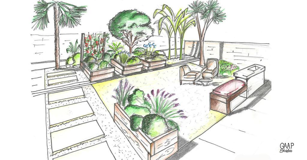 come progettare giardino 1