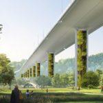 """Come funziona il ponte """"green"""" antismog a Genova che assorbe CO2"""