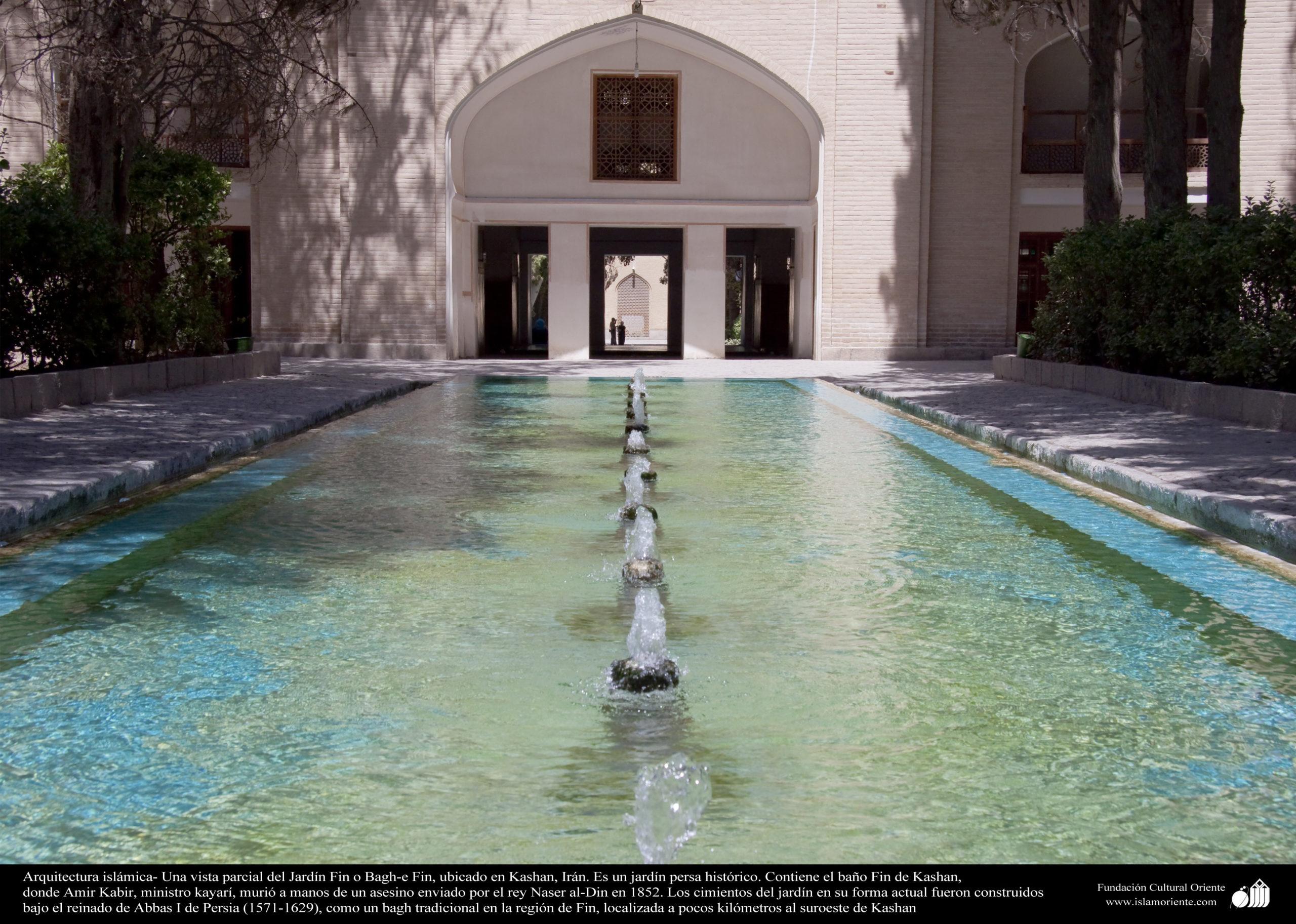 giardino persiano fontana