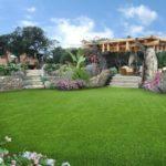 Realizzazione progetto giardino per villetta