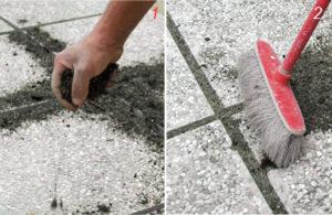 pavimento da giardino senza cemento come applicare