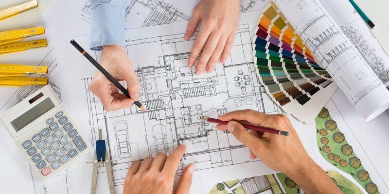 Architetto paesaggista, progettazione