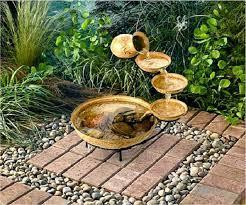 Tipica fontana solare con più livelli