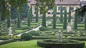 Giardino all'italiana in stile rinascimento