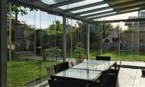 garden design di una veranda