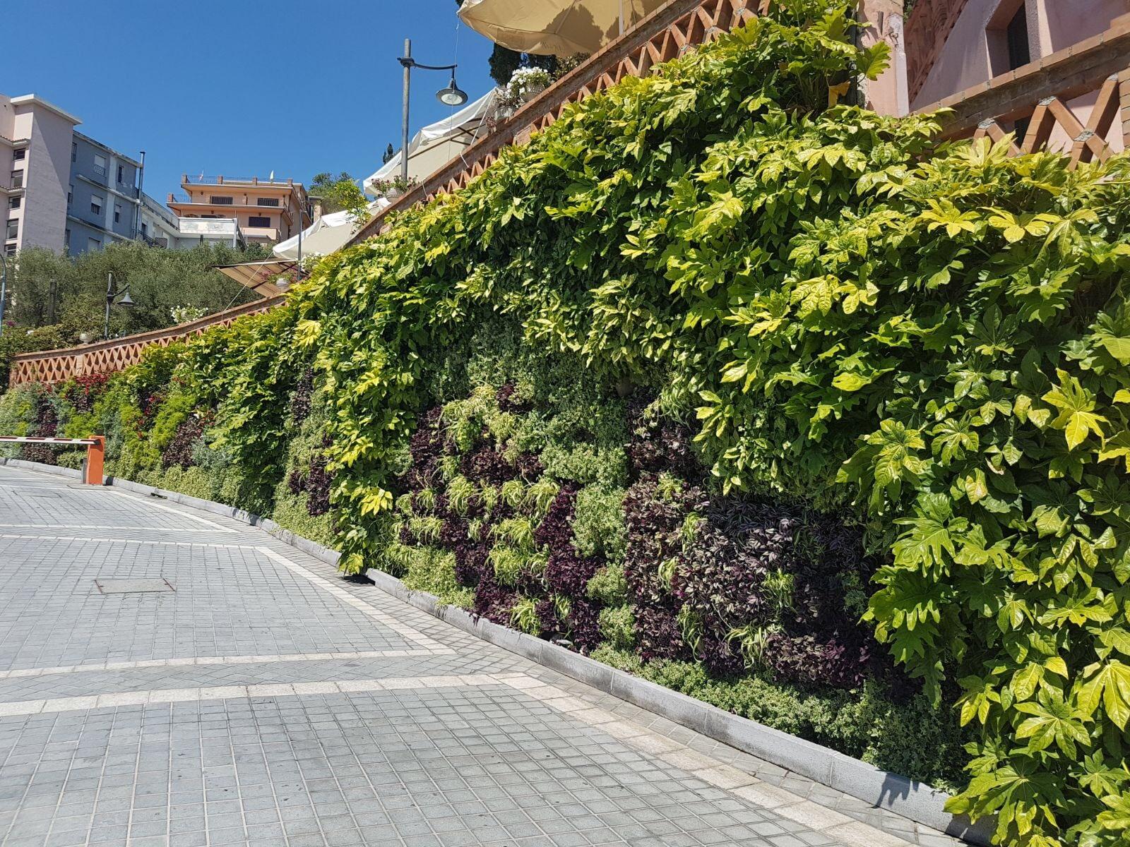 Pareti Verdi Verticali Costi costo giardino verticale, preventivo realizzazione per