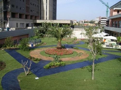 Progetto giardino policlinico catania planeta srl for Carrefour arredo giardino 2017