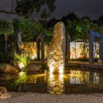 Effetti di luce nel giardino