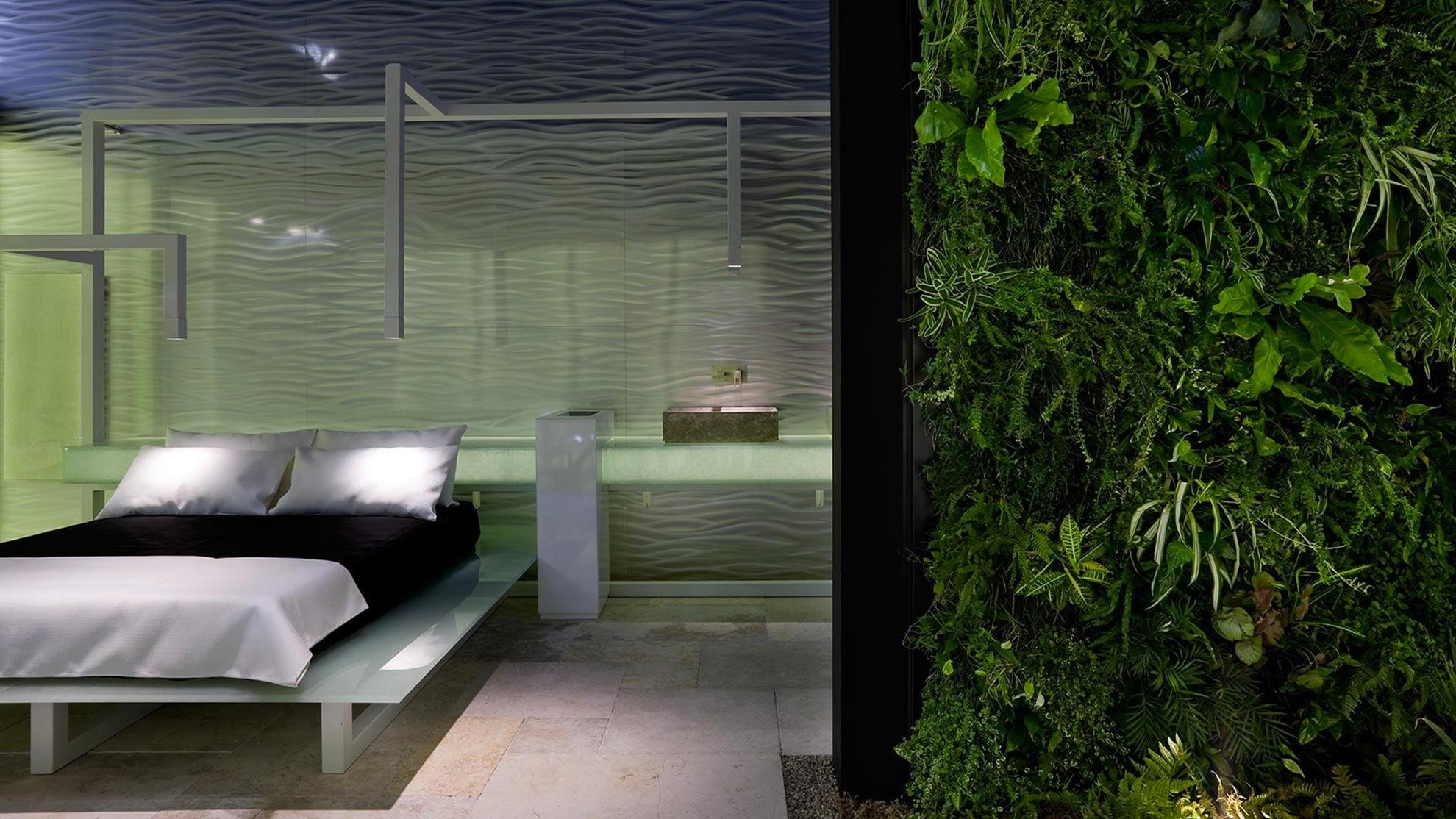 Esempi lavori per giardini verticali interni i progetti di planeta srl - Giardini verticali interni ...