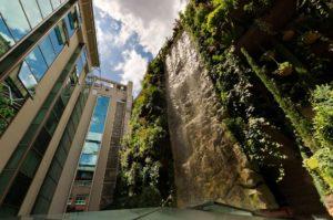 Vertical garden in Sao Paulo