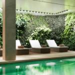 Giardino verticale per centro benessere e SPA