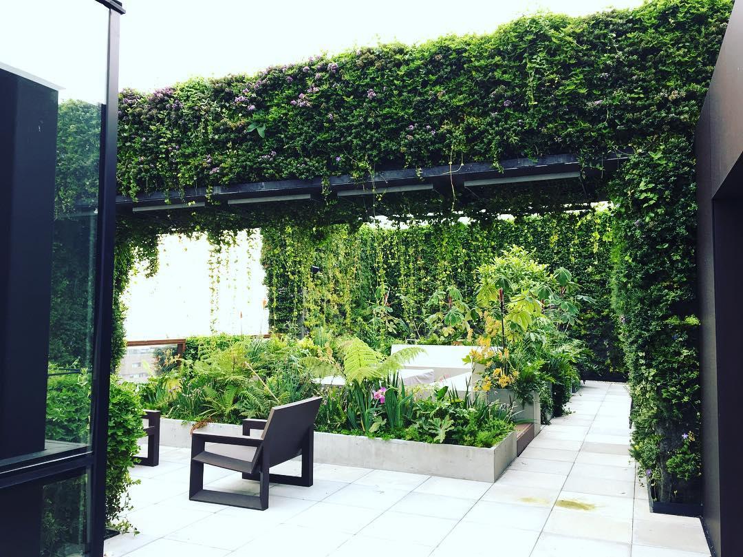 esempio di tetto giardino i progetti di planeta srl