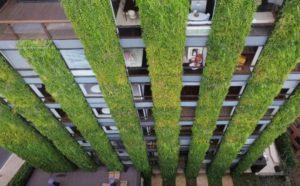 Giardino verticale esterno progetto
