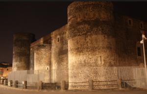 Illuminazione Castello Ursino