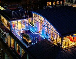 Luce in terrazza