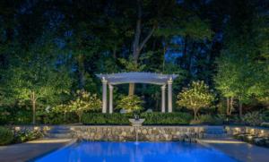 Illuminazione grande giardino