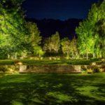 Illuminazione giardino e parco