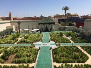 Progettazione giardino islamico