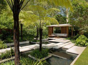 Progetto giardino tropicale