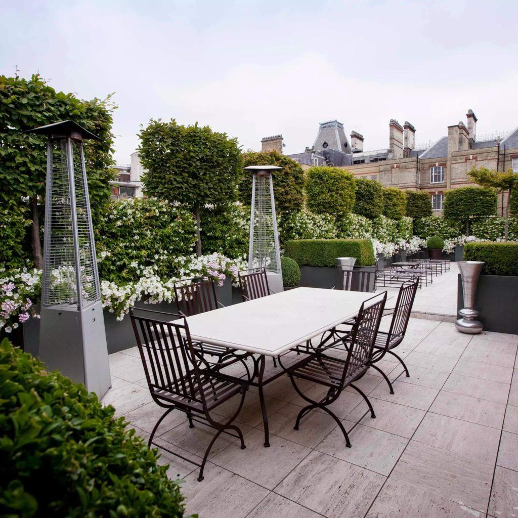 Esempio di giardino pensile per terrazza privata i - Giardino pensile terrazzo ...