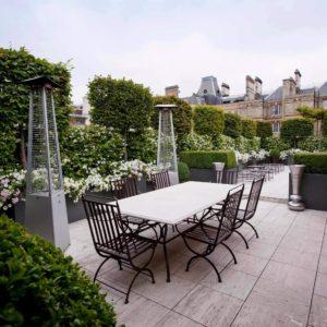 Giardino pensile per terrazza privata