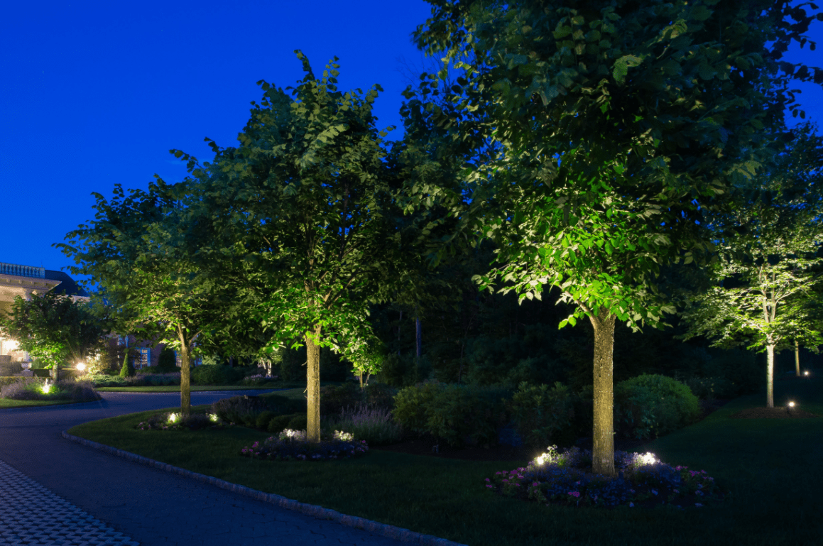 Esempio di illuminazione giardino esterno i progetti di planeta srl