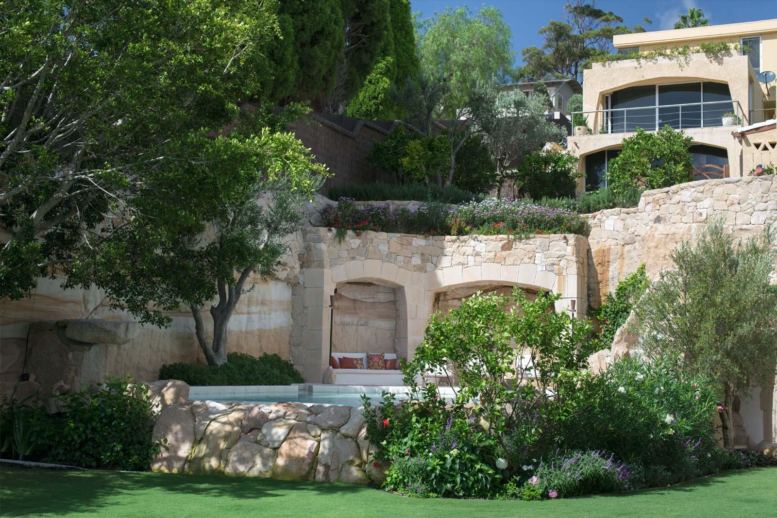 Esempio di progetto giardino mediterraneo i progetti di for Cespugli giardino