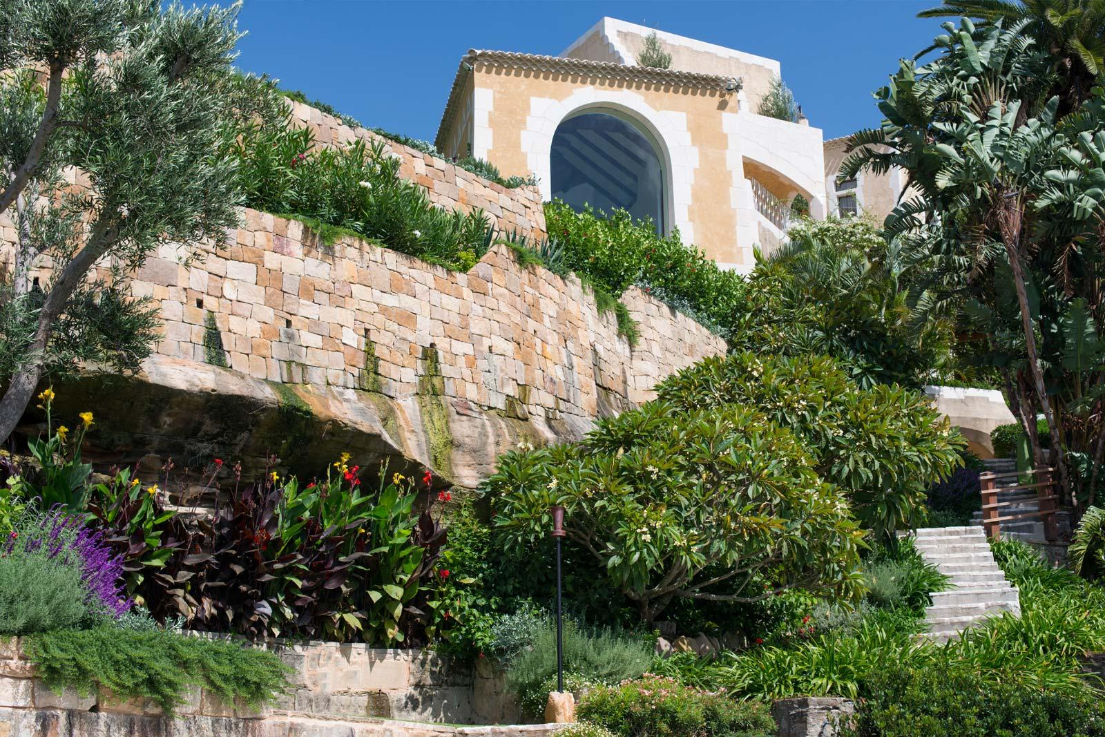 Esempio di progetto giardino mediterraneo i progetti di for Giardino mediterraneo