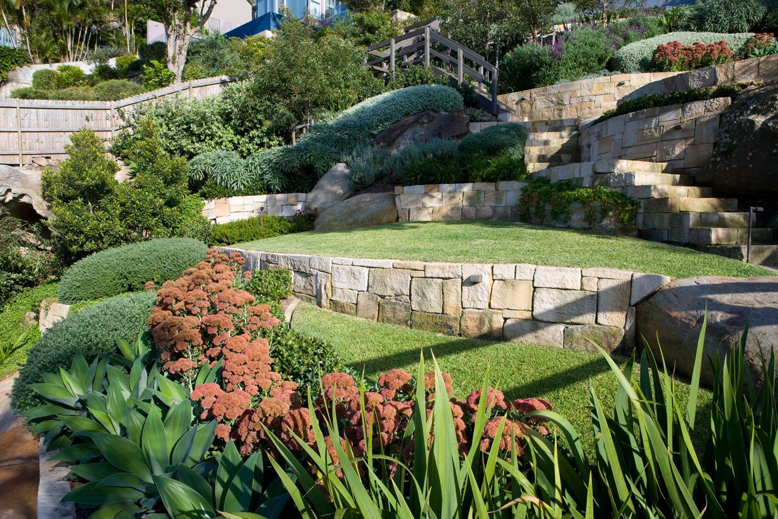 Esempio di giardino mediterraneo i progetti di planeta srl - Progetto giardino mediterraneo ...