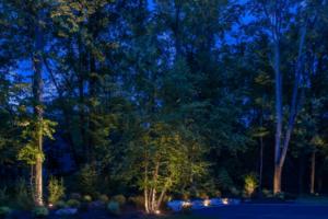 Illuminazione giardino esterno