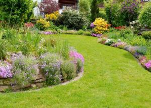giardino rustico prato inglese